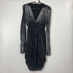 Anama Dress Black Long Sleeve